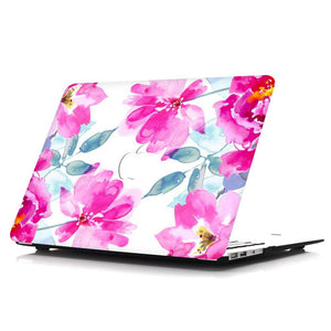 Macbook Case [A1370/A1465] MacBook Air 11' Macbook Case - Pink Foliage