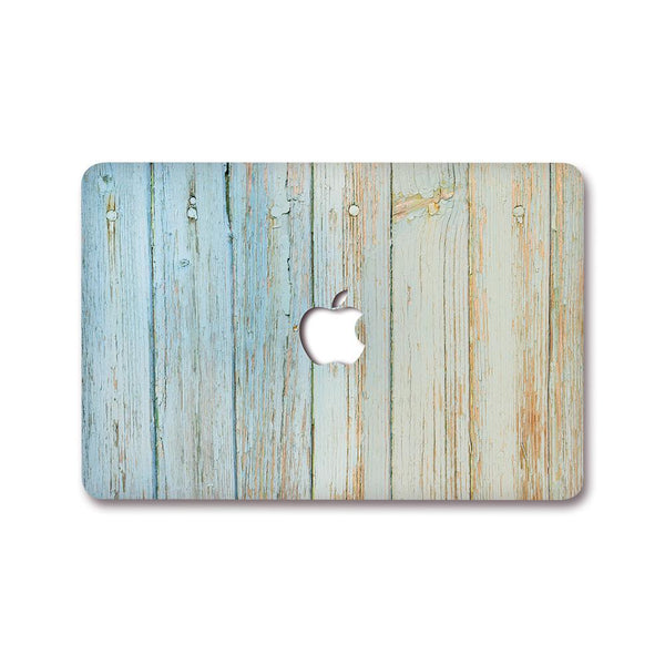 MacBook Decal - Blue Tiles