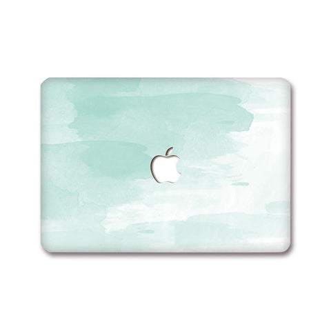 MacBook Decal - Mint Stroke