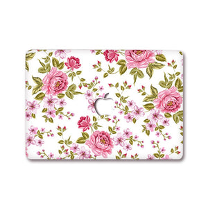 MacBook Decal - Roses | Slick Case