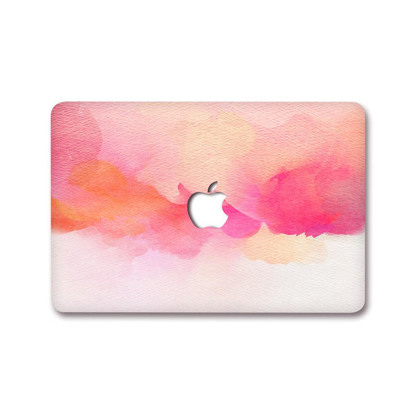 MacBook Decal - Coral Emulsion