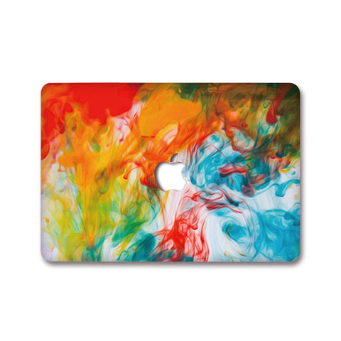 MacBook Decal - Paint Diffusion
