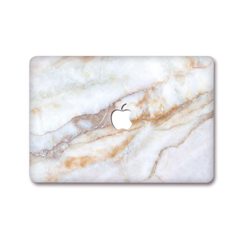 MacBook Decal - Crystal Marble