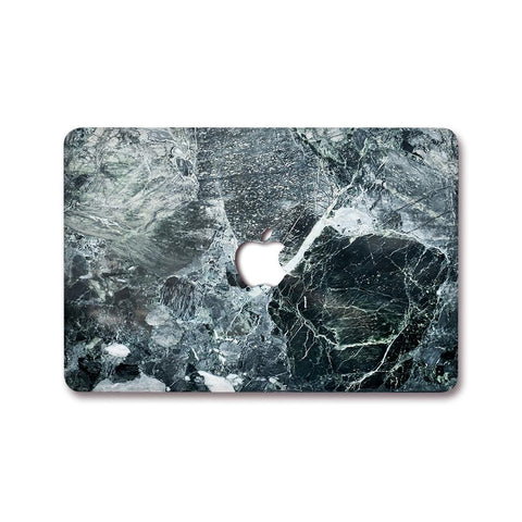 MacBook Decal - Ancient Black Marble