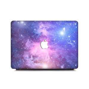 MacBook Case Protective Screen Package - Purple Galaxy - Slick Case