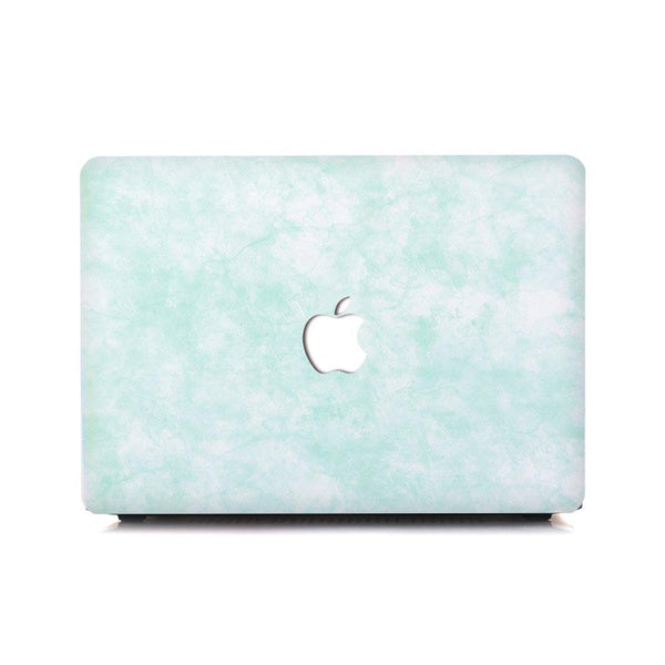 MacBook Case - Lime Marble