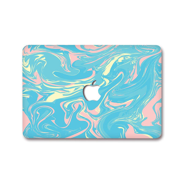 MacBook Decal - Paint Swirl