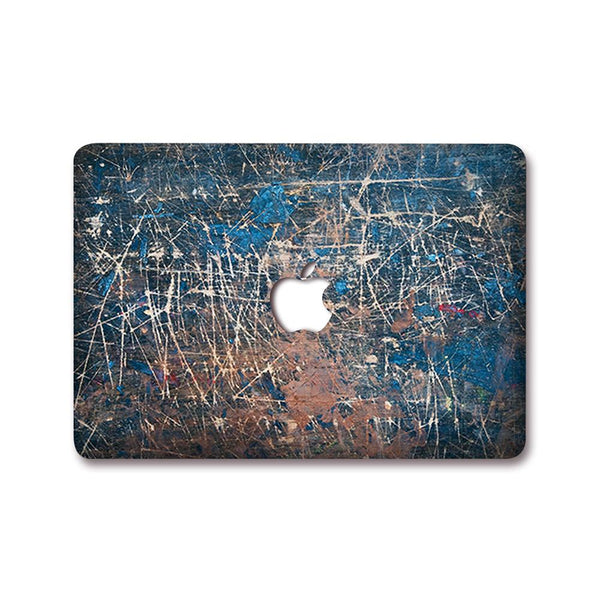 MacBook Decal - Worn Wood