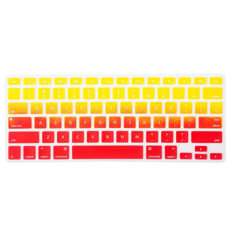Colour Gradient MacBook Keypad - Orange Yellow
