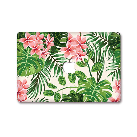 MacBook Decal - Floral Leaf