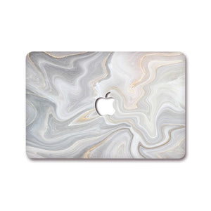 MacBook Decal - Ash Swirl | Slick Case