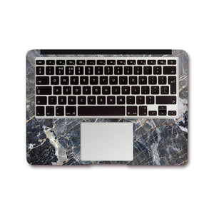 Macbook Decal [A1370/A1465] MacBook Air 11' MacBook Decal - Shatter Gold Marble