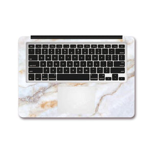 MacBook Decal - Crystal Marble | Slick Case