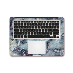 Macbook Decal - Ocean Marble