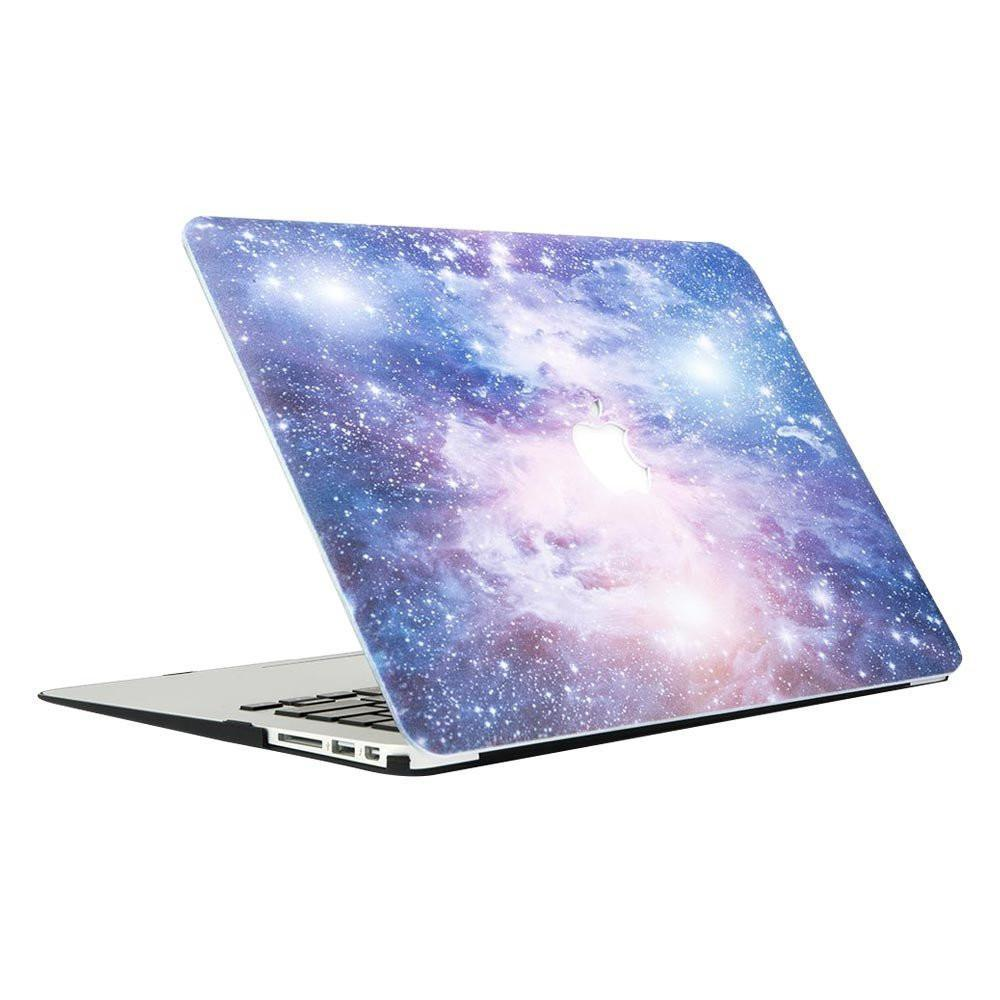 Best Macbook Protective Package - MacBook Case Protective Screen Package - Purple Galaxy