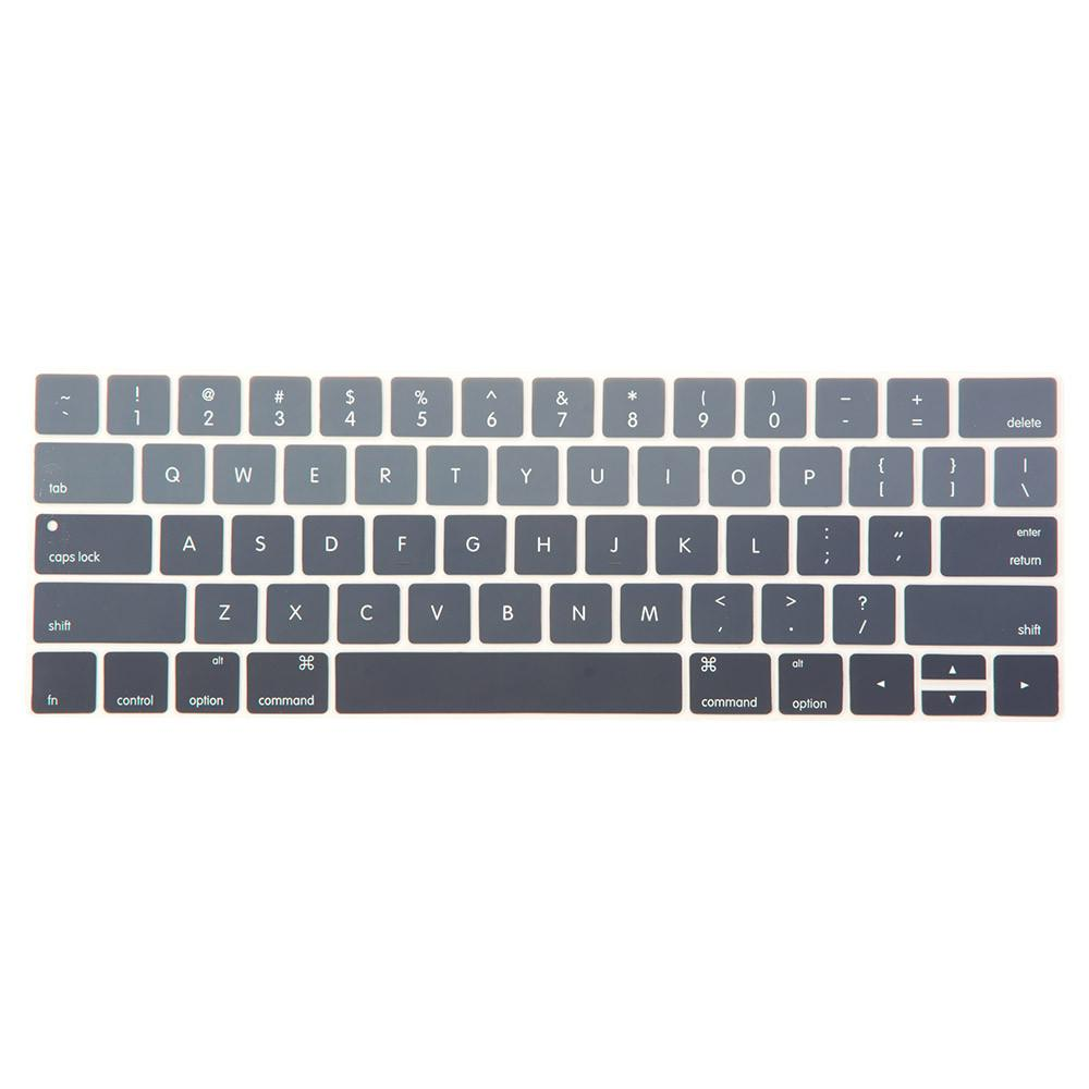 Best Macbook Keypad - Gradient Keypad - Grey MacBook Pro 13'/15' with Touch Bar [A1706/A1989/A2159] (2016-2019) / Grey