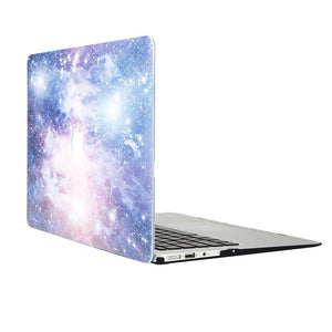 Macbook Protective Package [A1370/A1465] MacBook Air 11' / Gradient Keypad - Purple MacBook Case Protective Screen Package - Purple Galaxy
