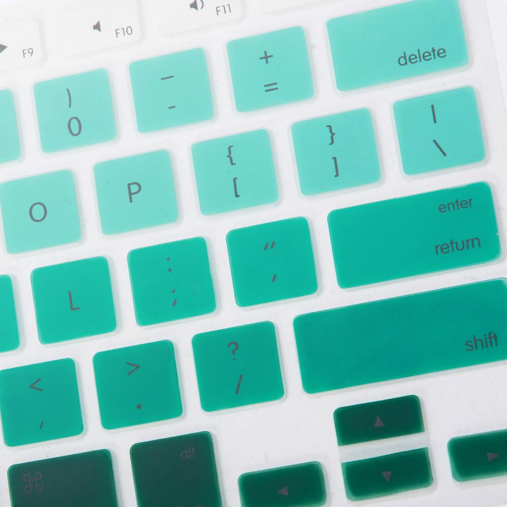 Best Macbook Keypad - Gradient Keypad - Turquoise Blue Macbook Air 11' [A1370/A1465] / Turquoise Blue