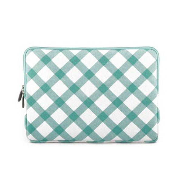 Laptop Sleeve - Mint Checkers