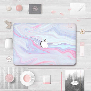 Macbook Decal [A1370/A1465] MacBook Air 11' MacBook Decal - Violet Swirl