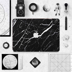 MacBook Decal - Black Marble | Slick Case