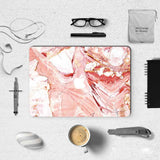 MacBook Decal - Wine Marble