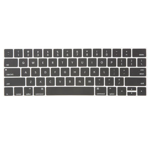Macbook Keypad Macbook Pro 13'/15' with Touch Bar / Carbon Black Multi-Color Macbook Keypads - Carbon Black