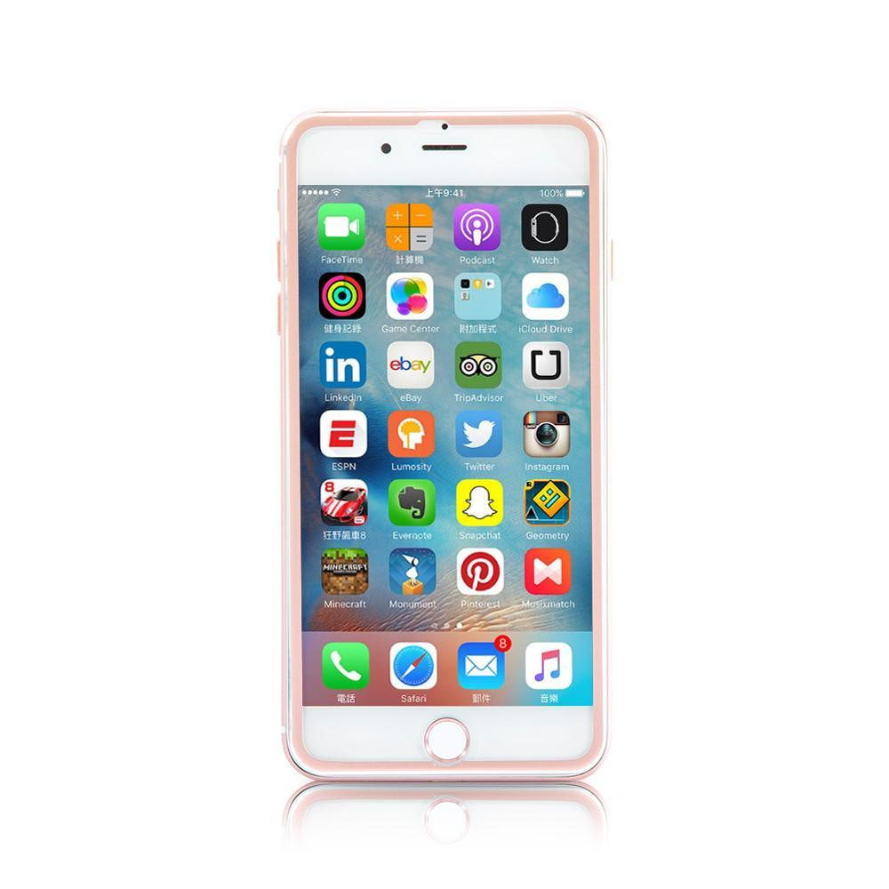 Best Accessories - Rose Gold Metallic Edge HD Protector Glass