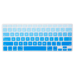 Block Letters Gradient Keypads - Sky Blue | Slick Case