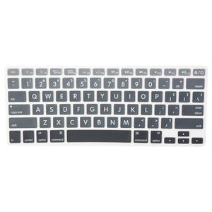 Macbook Keypad Macbook Air/Pro 13'-17' [A1369/A1466/A1425/A1502/A1398/A1278/A1286] Block Letters Gradient Keypads - Grey