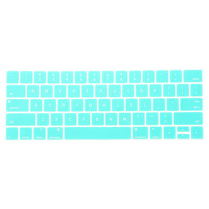 Multi-Color Macbook Keypads - Turquoise Blue
