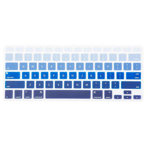 Macbook Protective Package [A1370/A1465] MacBook Air 11' / Gradient Keypad - Blue MacBook Case Protective Screen Package - Botanical Paradise
