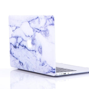 Macbook Protective Package [A1370/A1465] MacBook Air 11' / Multi-Color Macbook Keypads - Snowy White MacBook Case Protective Screen Package - Mauve Marble