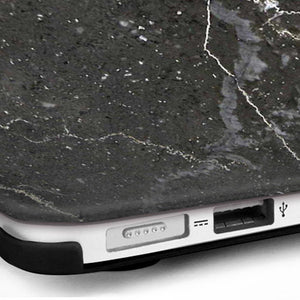MacBook Case Protective Screen Package - Argos Black Marble - Slick Case