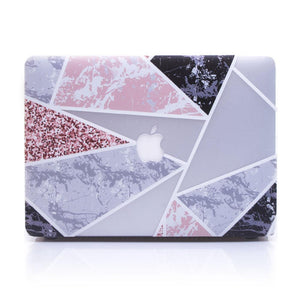 Macbook Case [A1370/A1465] MacBook Air 11' MacBook Case - Geometrical Glittery Marble
