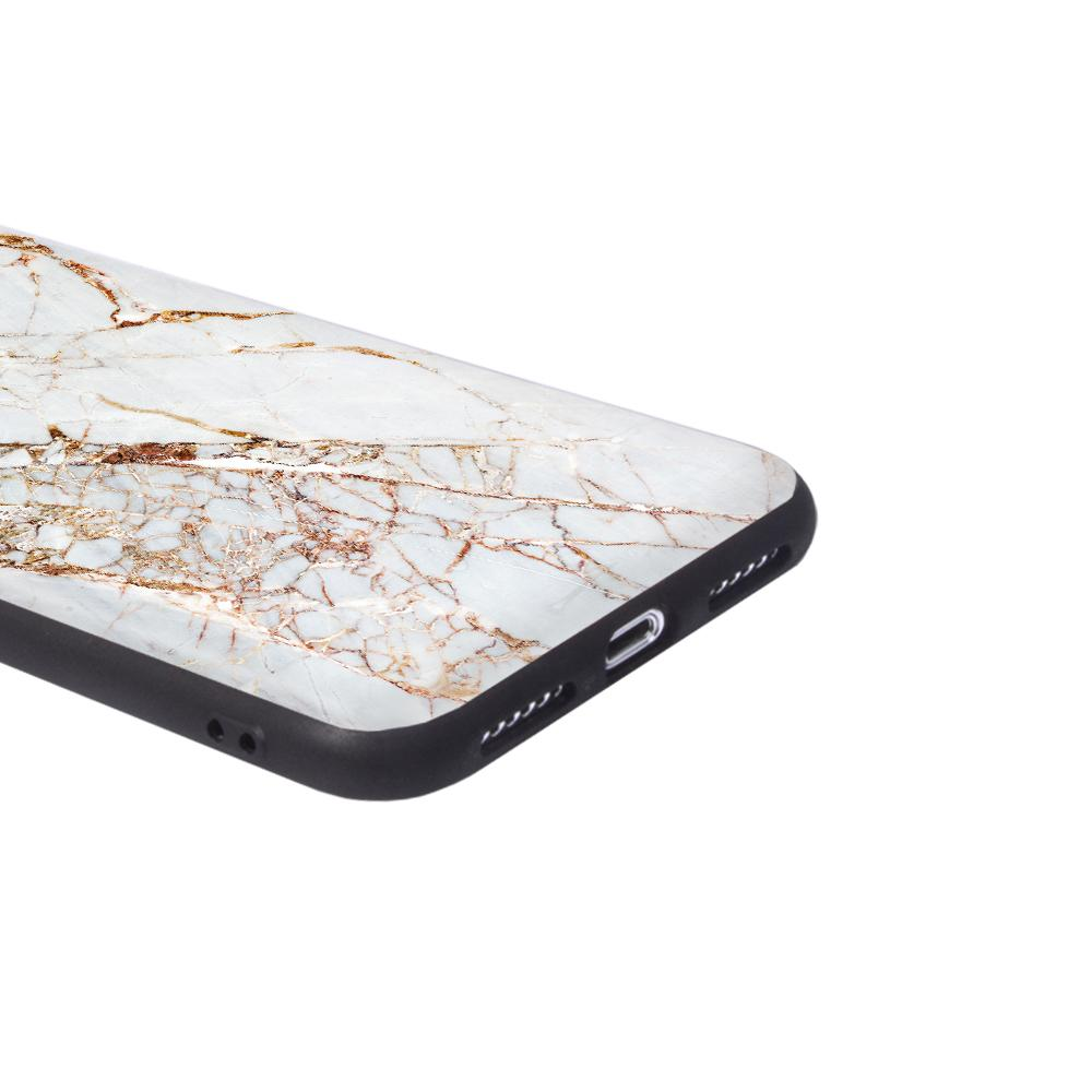 iPhone Case - Gold Slash Marble - Slick Case