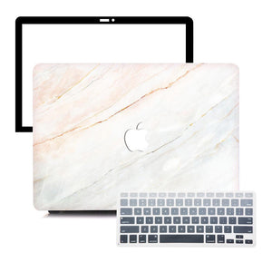 MacBook Case Protective Screen Package - Gradient Marble - Slick Case