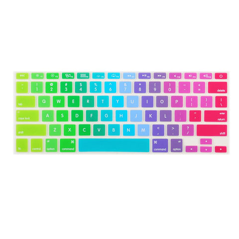 Rainbow MacBook Keypad
