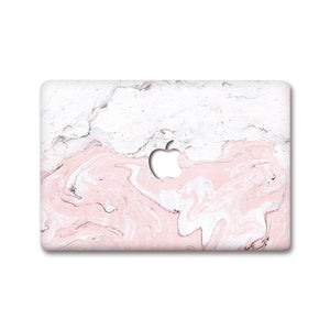 MacBook Decal - Baby Pink Fossil | Slick Case