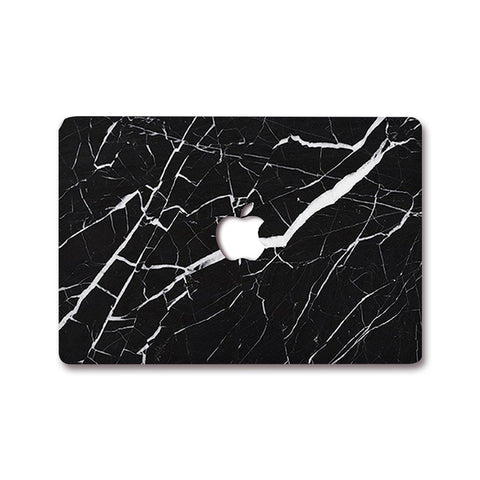 MacBook Decal - Black Marble