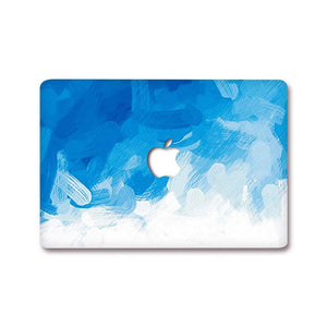 Macbook Decal [A1370/A1465] MacBook Air 11' MacBook Decal - Blue Strokes