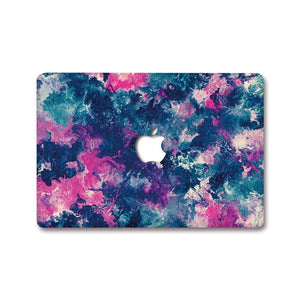 MacBook Decal - Flaming Violet | Slick Case