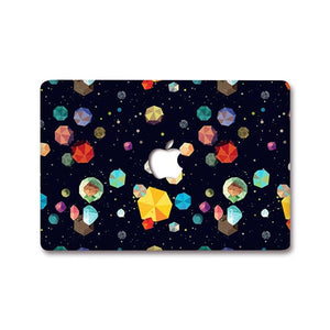 MacBook Decal - Geometric Universe | Slick Case