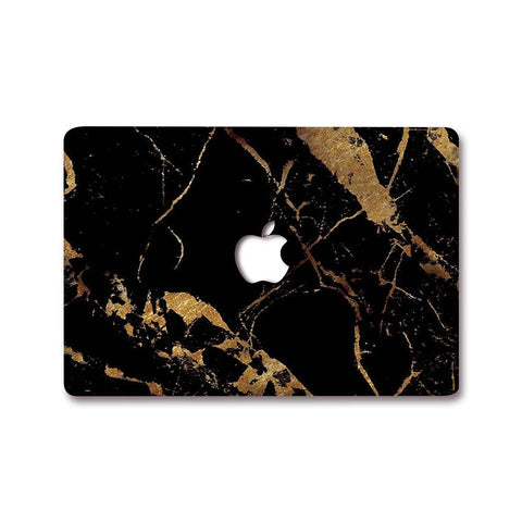 MacBook Decal - Gold Digger Marble