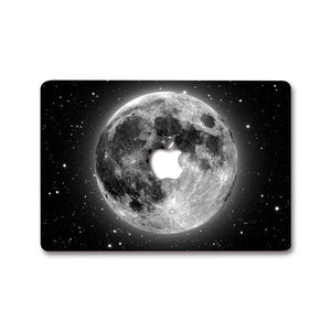 MacBook Decal - Moon | Slick Case