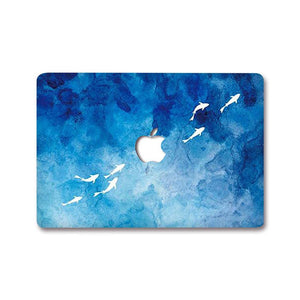 MacBook Decal - Ocean Mist | Slick Case