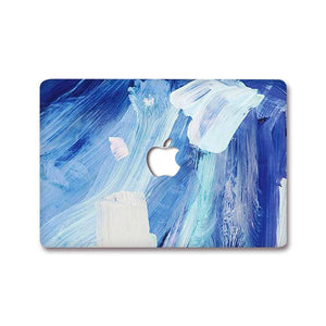 MacBook Decal - Ocean Paint | Slick Case