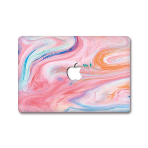 MacBook Decal - Pink Swirl | Slick Case