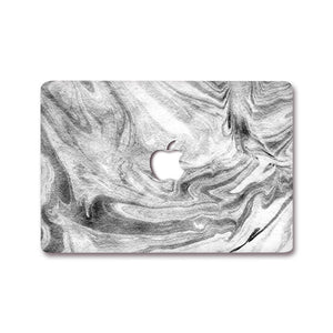 MacBook Decal - Shades of Grey | Slick Case