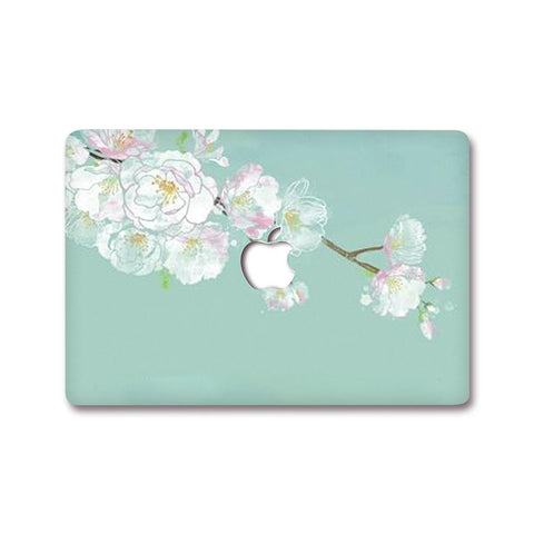 MacBook Decal - Turquoise Plum